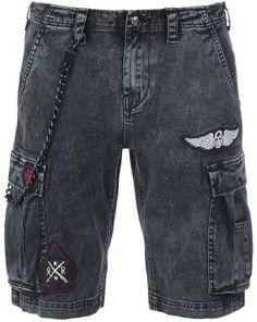 Vintage Denim Shorts - Pantalones cortos por Rock Rebel by EMP