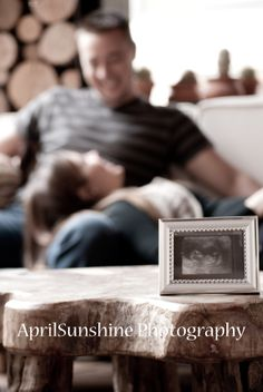 Baby announcement idea - facebook.com/aprilsunshinephotography