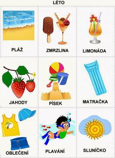 Pro Štípu: Rocni obdobi - obrazky Month Weather, Weather For Kids, Summer Activities For Kids, Book Activities, Preschool Activities, Language Dictionary, Adult Coloring Pages, Holidays And Events, Seasons