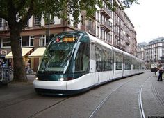 Strausbourg, France has practically banned cars, and made cheap, frequent streetcars the core mode of transit to the historic city center. Love this. Some American cities are enlightened and have invested in light rail; others, like Baltimore, are working on it. Sort of.