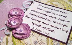 ** My Paper Crafting.com **: Scrunchy Flower Tutorial