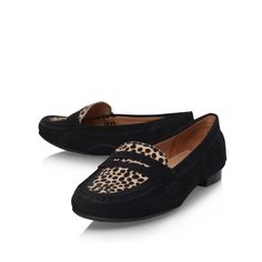 5f13aa8453f cali black flat loafer shoes from Carvela Comfort