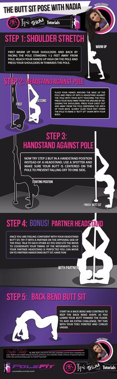 We teamed up with our Brand Ambassadors to bring you a series of tips and tricks to help you with your pole training. Here is Tips and Tricks The Butt Sit pose with Nadia Sharif. Pole Dance Moves, Pole Dance Fitness, Pole Dancing Quotes, Dance Quotes, Zumba, Bad Cats, Bad Kitty, Pole Classes, Pole Tricks