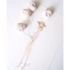 Brittany Fuson fashion sketch with doughnut holes