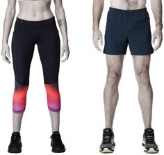 Lumo Run - 9-axis sensor  in waistband of shorts/ capris. Measures cadence, bounce (vertical oscillation), braking, pelvic rotation, ground contact time, stride length.  Auditory coaching thru headphones for real-time feedback. Waterproof, machine washable.  #running