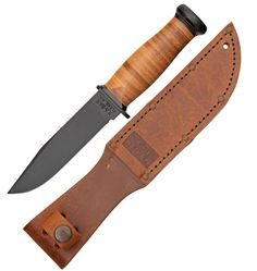 Ka-Bar US Navy Mark 1 Fighting / Utility knife (modern reproduction of a WWII knife)