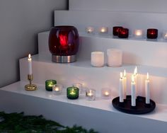 a range of Stunning Iittala candle and firelights to bring a littel Hygge to any home.