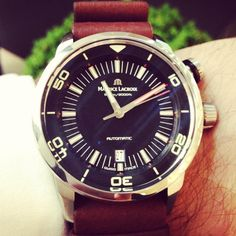 Love love this new Diver watch by Maurice Lacroix!