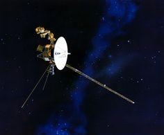 Voyager 1 no limite do sistema solar.