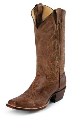 Justin Boots Tan Distressed Vintage Goat #boot #cowboy