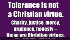 Read Billy Graham's Feb. 2013 thoughts on The Sin of Tolerance http://www.billygraham.org/articlepage.asp?articleid=8967