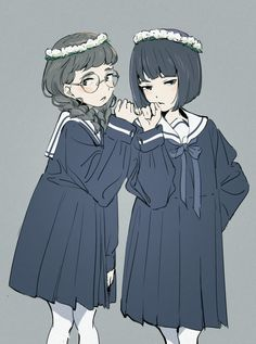 Only Girl, Yuri, Anime, Best Friends, Weird, Sketches, Animation, Manga, Lady