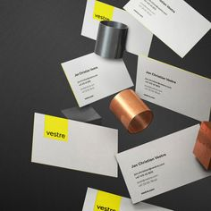 Visual identity for Vestre–