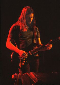 """ David Gilmour 1974. """
