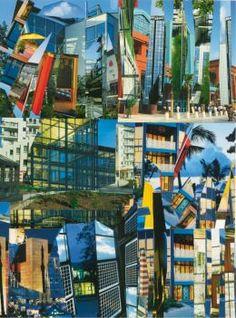 Architecture Collage By Isa Genzken