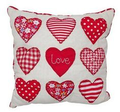 Dimensions 24cm x 24cm By adding touches of warmth and affection like this decorative pillow, you can convert your house into a home you can proudly call your own.  http://www.homedecornz.com/#!product/prd1/1754868175/love-cushion