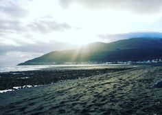 A little winter sun Newcastle Northern Ireland #discoverni #visitnorthernireland #northernireland #down #igersni #travel #islands