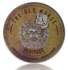 Review of The Old Norse Heritage Beard Balm  #beard #beards #bearded #balm #balms #beardbalm #review #reviews #productreview Beard Soap, Beard Shampoo, Beard Balm, Patchouli Essential Oil, Lemon Essential Oils, Beard Butter, Mustache Wax, Unrefined Shea Butter, Apricot Oil