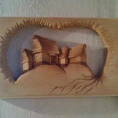 Drevorezba ručné vyrezávaný drevený obra... za 30€   Jaspravim.sk Bed Pillows, Pillow Cases, Home, Pillows, Ad Home, Homes, Haus, Houses