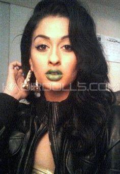 Wearing JAMAICA by KA'OIR - #Green #Lipstick
