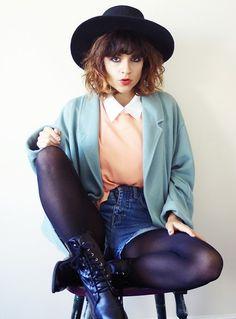 hey hat lady