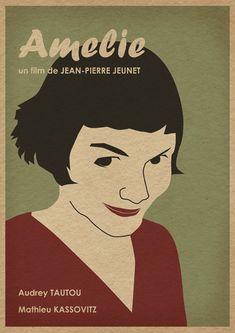 Minimalist, modern re-imagined movie posters by Joe Chiang