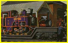 Culdee arrives at the Skarloey Railway