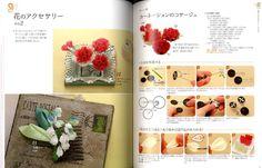 Beautiful Traditional Japanese Tsumami Fabric Flowers Japanese Craft Book SP2 | eBay