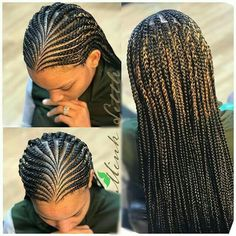 Black Girl Braids, Braids For Black Hair, Girls Braids, African Braids Hairstyles, Girl Hairstyles, Braided Hairstyles, Black Hairstyles, Flat Twist Hairstyles, Teenage Hairstyles