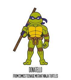 DONATELLO  http://herosandvillains.tumblr.com/post/12234761245 by TM