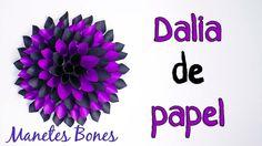 Dalia | Viernes de papel - Tutorial DIY