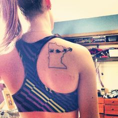 Minnesota birds tattoo - Like that, just a little different