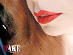 #Maquiagem #makeup #make #batom #batomvermelho #redlips #red #vermelho #boca #lábios #delineado #ruiva #cabeloruivo #ruivonatural