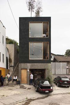 small spaces — Simon Storey's three-storey story
