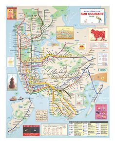NYC Subway Maps