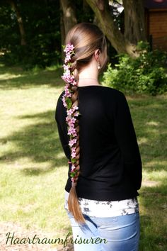 Engländer mit Blumen