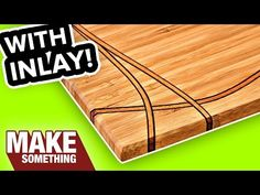 Easy Woodworking Project Tips Diy Cutting Board, Custom Cutting Boards, Beginner Woodworking Projects, Woodworking Tips, Woodworking Patterns, Woodworking Techniques, Fall Wood Projects, Diy Projects, Diy Computer Desk