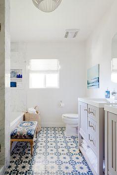 Moroccan Bathroom Remodel | D.L. RHEIN