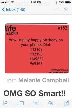 Life hacks!!