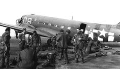 82nd AB prepping for their jump on St Mere Eglise, Jun 1944