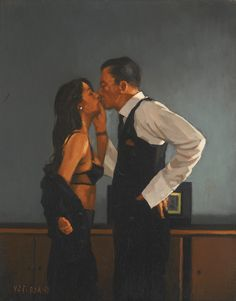 , Study For Pincer Movement Artwork By Jack Vettriano Oil Painting & Art Prints On Canvas For Sale , Study For Pincer Movement Artwork by Jack Vettriano Hand-painted and Art Prints on canvas for sale,you can custom the size and frame. Jack Vettriano, Sexy Painting, Painting Art, Romance Art, Art Moderne, Pulp Art, Pulp Fiction, Art Plastique, Erotic Art