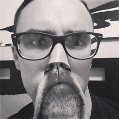 Dustin Seales gets in on the action with a black and white shot of his dog beard Animal Pictures, Cool Pictures, Funny Pictures, Dog Bearding, Cat Beard, Beard Pictures, Cat Whiskers, Dog Owners, Make Me Smile