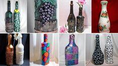 20 ideas decor bottles. Decor with their hands