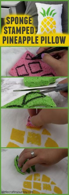 Tumblr Inspired DIY Pillows