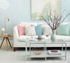 Paint Ikea VITTSJÖ nesting-style coffee table