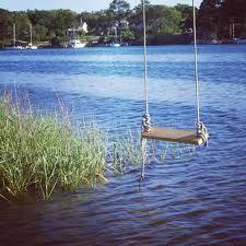 Paradise lakes swinging