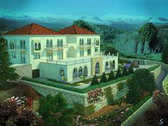 Lebanese traditional house