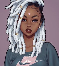 Drawings sexy black art, black girl art, black women art, black i Sexy Black Art, Black Love Art, Black Girl Art, Black Is Beautiful, Black Girl Magic, Black Girls Drawing, Arte Dope, Dope Art, Black Girl Cartoon