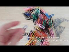 How to make a ring out of a paper clip. - YouTube