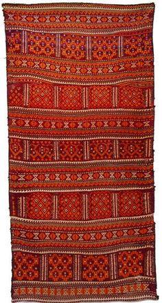 197x98 cm antik orient Nomaden beloch kelim Afghan bauern kilim Rarität No-376